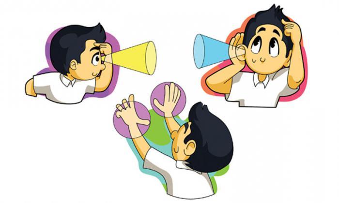 Диагностика канала восприятия (визуал, аудиал, кинестетик)