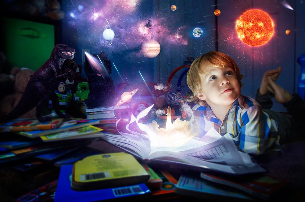 Упражнения на развитие воображения у детей